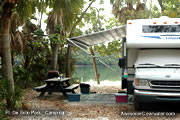 Camping near Clearwater at Ft. De Soto park
