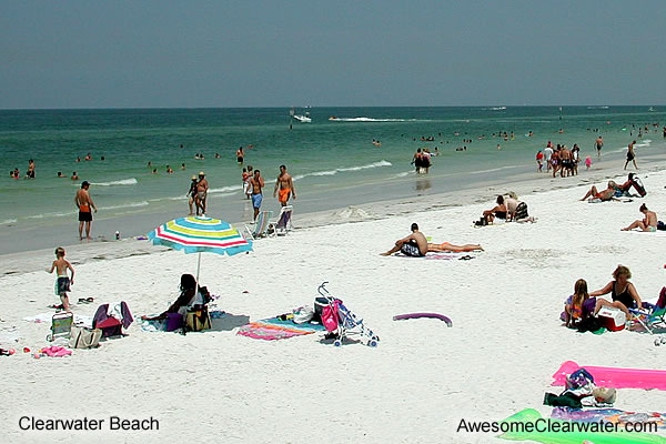 Image Clearwater Beach White Sand