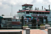Show Queen and Little Toot at Clearwater Municipal Marina