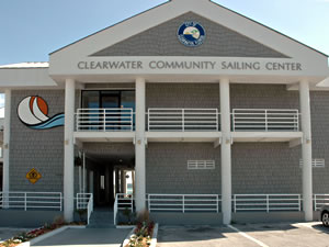 Clearwater Community Sailing Center building