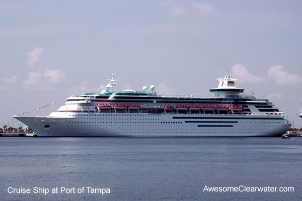 Clearwater Florida Area Cruise Lines
