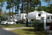 Dunedin RV Park in Palm Habor, near Clearwater