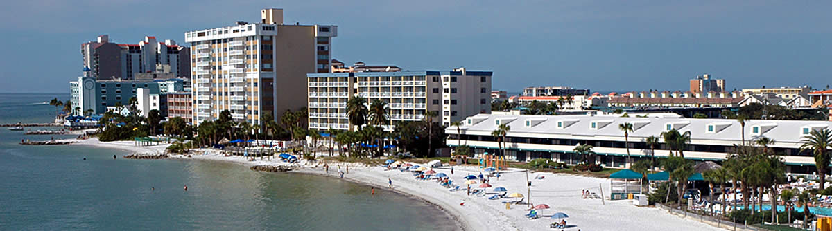 Choose from many places to stay while visiting Clearwater - hotels, resorts, campgrounds and vacation rentals.